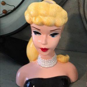 Barbie vase